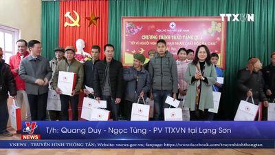 Trưởng ban Tuyên giáo Trung ương thăm, chúc tết tại Lạng Sơn
