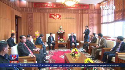 Lãnh đạo tỉnh Sê Kông (Lào) thăm và chúc Tết tỉnh Quảng Nam