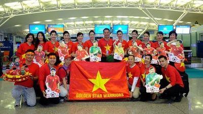 CĐV trực chỉ UAE 'tiếp lửa' Đội tuyển Việt Nam