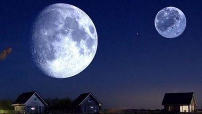 Điều gì xảy ra nếu Trái Đất có hai Mặt Trăng?