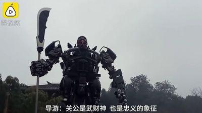 Bức tượng Quan Vũ kỳ lạ chưa từng thấy ở Trung Quốc
