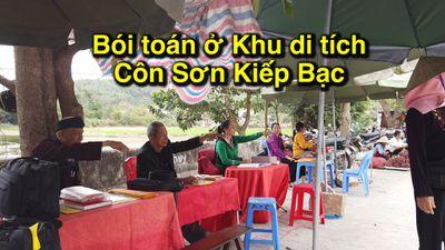 Bói toán nịnh khách, mua thần bán thánh ở khu di tích Côn Sơn Kiếp Bạc
