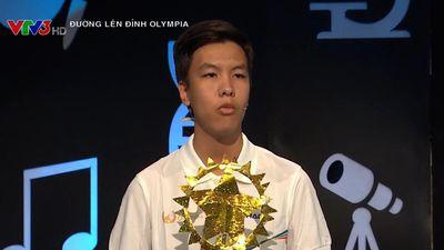 Nam sinh Bình Thuận giành 70 điểm Khởi động
