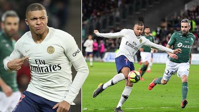 Highlights: Mbappe lập siêu phẩm, PSG thắng St.Etienne 1-0