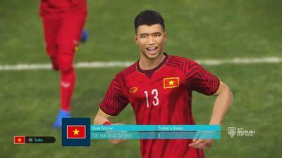 Clip: Trận đấu kịch tính giữa ĐT Việt Nam và ĐT Brazil trong PES 2018