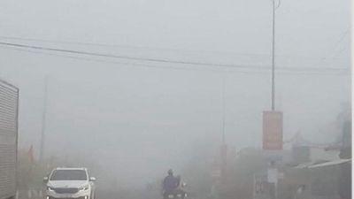 Sương mù dày đặc, phủ kín miền Tây
