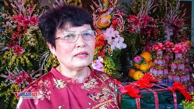Người phụ nữ 22 năm làm lễ dâng Đức Thánh Trần