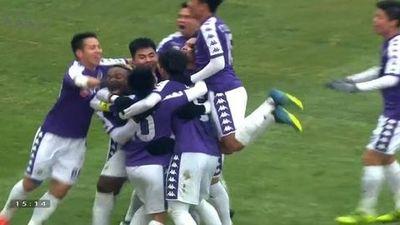 Hà Nội FC để thua ngược đầy tiếc nuối trước Sơn Đông Lỗ Năng