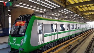 Tàu điện trên cao Cát Linh-Hà Đông chạy miễn phí nửa tháng