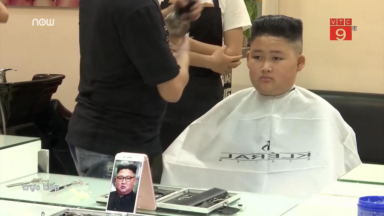 Salon ở Hà Nội cắt miễn phí kiểu tóc của ông Trump và ông Kim Jong-un