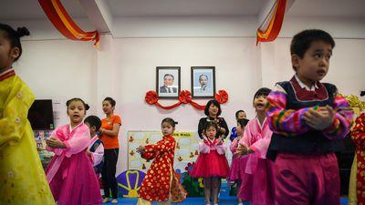 Trường mẫu giáo Việt - Triều chờ ông Kim Jong Un đến thăm