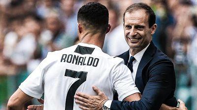 HLV Allegri: 'Juventus có lợi thế vì sở hữu Ronaldo'