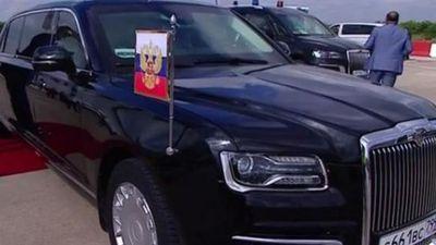 Video hiếm quay nội thất siêu xe 'boong-ke 4 bánh' của Putin