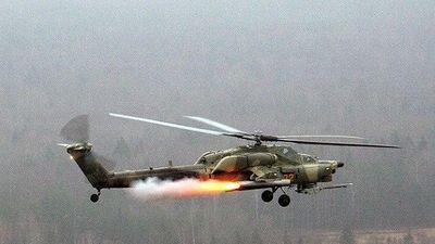 Cận cảnh Mi-35 và Ka-52 thực hiện chiến thuật 'đi săn tự do' ở Syria