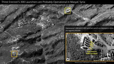 Lộ ảnh vệ tính tên lửa S-300 của Syria chính thức trực chiến