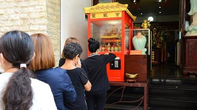 Ngôi chùa đầu tiên ở TP HCM xuất hiện 'xin xăm 4.0'