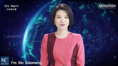 Trung Quốc công bố nữ MC 'trí tuệ nhân tạo' đầu tiên trên thế giới