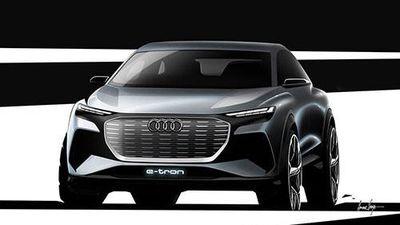 Xe điện Audi Q4 e-tron Concept sắp ra mắt toàn cầu
