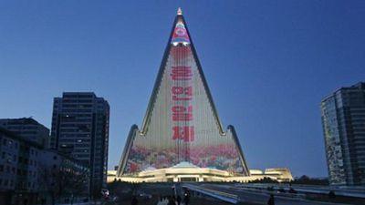 Bên trong khách sạn chọc trời hình kim tự tháp ở Triều Tiên