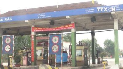 Chính thức tạm dừng thu phí tại trạm Cầu Rác