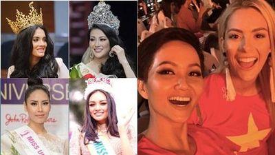 Loạt mỹ nhân Việt phản ứng 'người khôn, kẻ dại' khi bất ngờ vướng scandal với các hoa hậu quốc tế