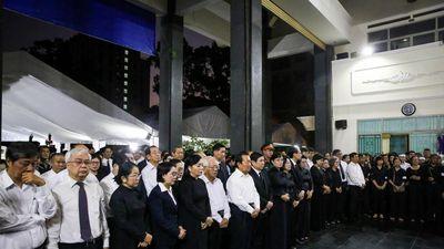 Xúc động lễ truy điệu Phó chủ tịch TP.HCM Nguyễn Thị Thu
