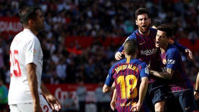 Highlights: Messi 'lên đồng', Barca thắng dễ Sevilla 4-2