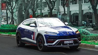 Đại gia Minh Nhựa lại 'thay áo' Lamborghini Urus giá 23 tỷ