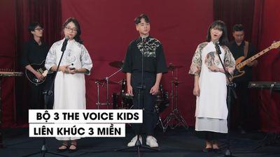 Phương Mỹ Chi tái hiện phần thi Đối đầu ở 'The Voice Kids'