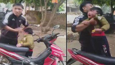 Cãi nhau với vợ cũ, chồng lôi con trai 5 tuổi ra tát đôm đốp: 'Liên quan đến mày không?'
