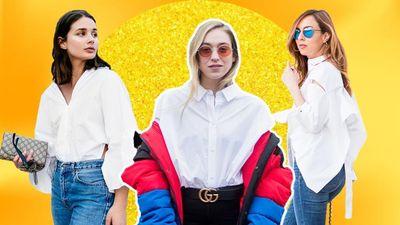 9 cách phối đồ cùng áo sơ mi trắng cực kỳ độc đáo