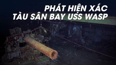 Tìm thấy xác tàu sân bay Mỹ bị Nhật đánh đắm 75 năm trước
