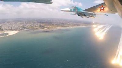 Su-34 học cách thoát thân tại Syria