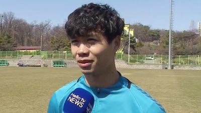 Công Phượng trả lời truyền hình Hàn Quốc bằng tiếng Anh