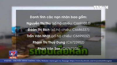 Hỗ trợ gia đình các nạn nhân người Việt tử vong tại Thái Lan