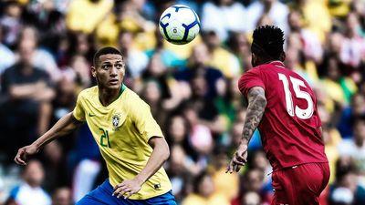 Highlights giao hữu quốc tế: Brazil 1-1 Panama