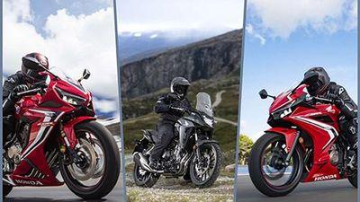 Honda CB500X, CBR500R và CBR650R mới ra mắt tại Việt Nam