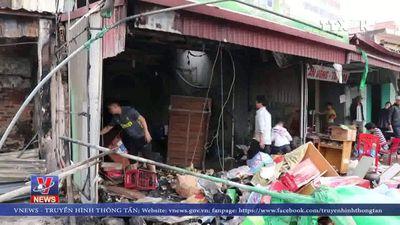 Hỏa hoạn thiêu rụi ba căn nhà tại Hải Phòng