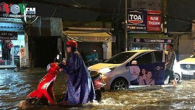 Thời tiết hôm nay: Nam Bộ mưa dông nhiều nơi, cảnh báo ngập cục bộ