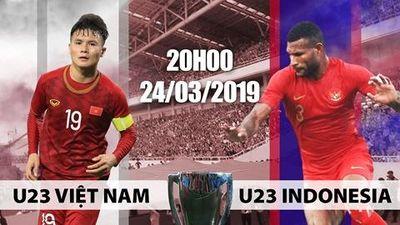 Clip U23 Việt Nam - U23 Indonesia: Cuộc chiến sinh tử
