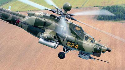Uy lực trực thăng Mi-28NM vừa được Nga đưa đến Syria