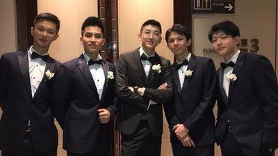 Dân mạng xôn xao trước dàn phù rể cực phẩm trong đám cưới hot boy đình đám xứ Trung