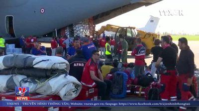 Cộng đồng quốc tế viện trợ Mozambique