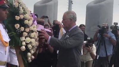 Thái tử Anh Charles đặt vòng hoa ở Quảng trường Cách mạng Cuba