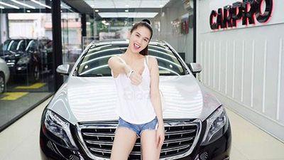 'Nữ hoàng nội y' Ngọc Trinh độ Mercedes-Maybach S500 giá 11 tỷ