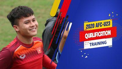 Clip: U23 Việt Nam cười 'thả ga' trong buổi tập trước trận gặp U23 Thái Lan