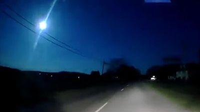 'Quả cầu lửa màu xanh' bất ngờ vụt sáng bầu trời Mỹ