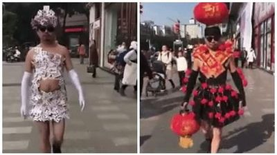 Vietnam International Fashion Week cũng phải 'chào thua' trước bộ sưu tập thời trang có 1-0-2 này