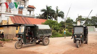 Xe công nông hoành hành bất chấp lệnh cấm tại Thủ đô