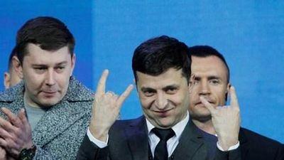 Diễn viên hài nổi tiếng trở thành tân Tổng thống Ukraine